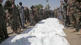 الحوثيون يُعدمون تسعة أشخاص في قضية صالح الصماد