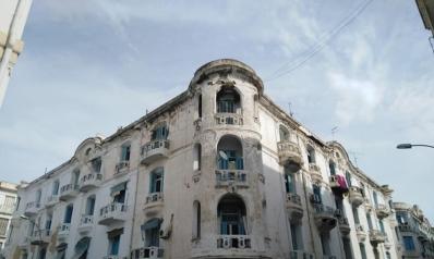 """""""المدينة الأوروبية"""" في تونس تراث معماري يطمسه الإهمال"""