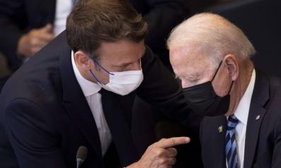 الخصام مع باريس يهدد بتقويض استراتيجية بايدن لمواجهة الصين