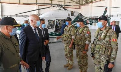 قيس سعيد يحذر حركة النهضة من اختراق المؤسسة الأمنية