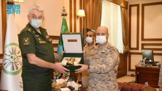 قائد الأركان الروسي يعزز التعاون العسكري مع السعودية