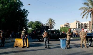 العراق يغلق المنطقة الخضراء أمام أنصار الخاسرين في الانتخابات